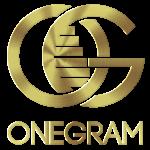 onegram coin gold logo